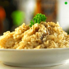 Brown Rice Risotto - Brown #RiceRecipes