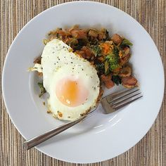 Leftovers_for_breakfast_are_the_best_when_you_re_tired__I_took_leftovers_of_my_Stuffed_Sweet_Potatoes__bacon__Brussels__broccoli__chicken__and_threw_them_in_a_pan_with_the_mashed_sweet_potato_then_racked_some_eggs_in._Perfect_and_quick.___breakfast__