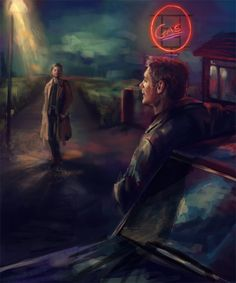 """When Castiel was raised from Hell by unknown forces, dealing with a leather-jacket wearing angel called Dean was not exactly what he had expected. Forced together to try and stop the Apocalypse, the pair soon form an unlikely friendship..."" 