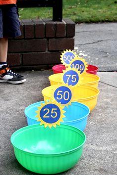 Simple Bean Bag Toss Game, DIY Backyard Ideas, DIY Backyard Games, Backyard Games, DIY Ideas