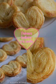 Voici la recette des Palmitos de Lu de mon enfance, de délicieux petits palmiers feuilletés à la vanille. Croustillants et dorés avec un bon goût de beurre!   Vous allez peut-être penser que je suis devenue une obsessionnelle des recettes de mon enfance... Et bien oui, c'est exact. J