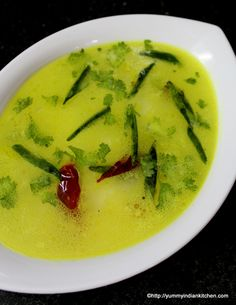 Today's recipe is the simplest of all the curries or rasam varieties and it is nothing but majjiga pulusu which is quite a popular quick rasam in andhra and telangana region of south india...