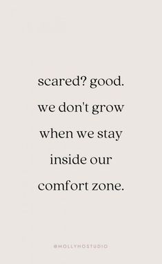 Get out of your comfort zone.  #newyear #2019 #quotes #motivationalquotes #newyearsresolution #resolution Follow us on Pinterest: www.pinterest.com/yourtango
