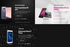 T-Mobile Black Friday 2017 Ads and Deals See all smartphone deals during Tmobile Black Friday sale and find more Black Friday specials on not only Tmobile phone plans, coverage, prepaid phone. Mobile D, T Mobile Phones, Black Friday 2017 Ads, Black Friday Specials, Galaxy S8, Samsung Galaxy, Smartphone Deals, Prepaid Phones, Phone Plans