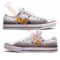 Minion Shoe 4 Converse by denimtrend on Etsy, $75.00