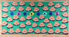 February Birthday Bulletin Board - Groundhogs