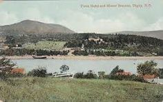 Old postcard shows Mount Beaman behind Pines Resort, near Digby, NS. It was named after Elizabeth Beaman, widow of Loyalist Thomas Beaman, who was granted 200 acres as United Empire Loyalist after American Revolution. Named After, Old Postcards, American Revolution, Nova Scotia, Acre, Empire, The Unit, Outdoor, Instagram