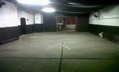 Holbeck Underground Ballroom. A perfect space to screen Dawn of the Dead.