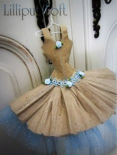 Little paper dress