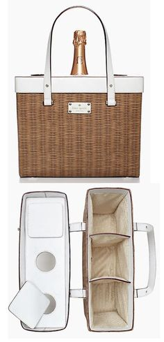 Is this not the CUTEST champagne picnic tote ever?  And it's 50% off until tomorrow! http://rstyle.me/ad/qxs72nyg6
