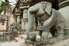 Elephant Temple, India  (why I love elephants)