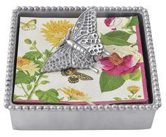 Mariposa Butterfly Napkin Box