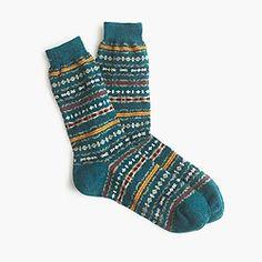 Anonymous Ism™ Fair Isle socks