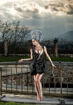 SculptureDress Gabrielladeplano Fashion Design - StrCturEs SS 2014