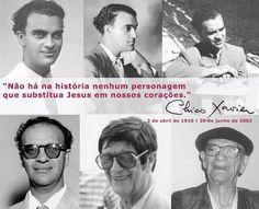 Chico Xavier - médium brasileiro e seguidor da Doutrina Espírita codificada por Allan Kardec.