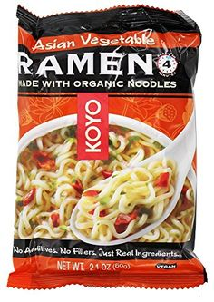 Koyo Asian Vegetable Dry Ramen  21 oz * See this great product.