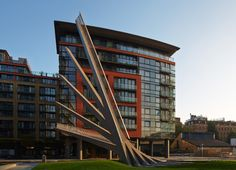 Merchant Square Bridge, 'Fan Bridge''- London, by  Knight Architects e AKT II