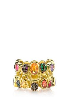 Color Wheel Ring by Daniela Villegas for Preorder on Moda Operandi