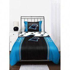 NFL Carolina Panthers Twin Full Comforter Walmart  OnSaleBedSheets 9c245c77a