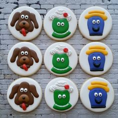 Wiggles Cookies The Wiggles Dorothy Wags Henry Dinosaur Dog Octopus