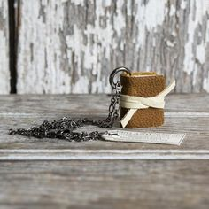 Book Necklace: Husk