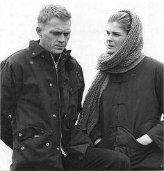 steve and Candice bergin Steve Mcqueen Triumph, Steve Mcqueen Style, Steve Mcqueen Haircut, Hollywood Actor, Hollywood Glamour, Steeve Mac Queen, Ali Macgraw, Star Wars, Clint Eastwood