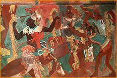 Bonampak - incredible painted scenes still survive!