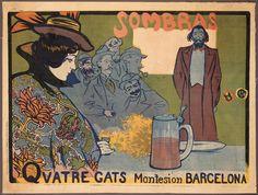 Ramon Casas et Miquel Utrillo _Sombras_1897