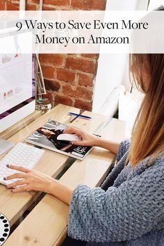 9 Ways to Save Even More Money on Amazon via @PureWow via @PureWow