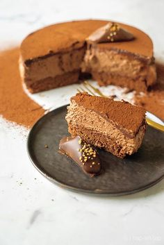 Bread Cake, Pie Cake, No Bake Cake, Great Desserts, Dessert Recipes, Cake Cookies, Cupcake Cakes, Snickers Cake, Chocolate Pies
