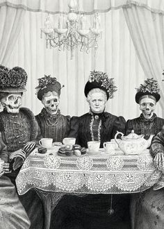 """""""The Carnival Of Death"""" - Laurie Lipton"""