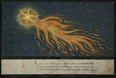 The Greatest Representations of Comets in the History of Art Some illustrations of comets, from The Book of Miracles, created in Augsburg, Germany, around 1550