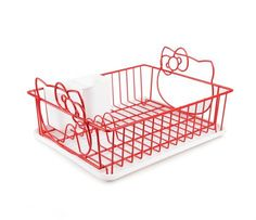 Hello Kitty Dish Drainer: Love