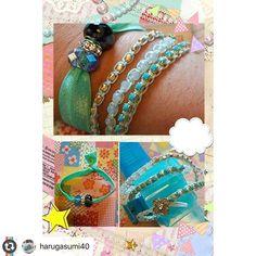 Beautiful Wrapit Loom Bracelets by @harugasumi40  #wrapitloom #wrapitloombracelet