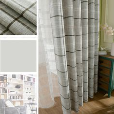 Vermont Dove Grey Lined Eyelet Curtains