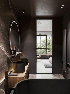 Bright and stylish apartment design // cgi visualization Condo Interior Design, Interior Decorating, Modern Small Apartment Design, Complete Bathrooms, Bathroom Wall Decor, Bathroom Ideas, Bathroom Designs, Bathroom Fixtures, Beautiful Bathrooms