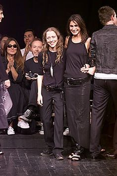 Ann Demeulemeester Spring 2000 Ready-to-Wear Collection Photos - Vogue High Fashion, Fashion Show, Womens Fashion, Fashion Design, Patti Smith, Ann Demeulemeester, Men's Collection, Daily Wear, Spring Summer Fashion