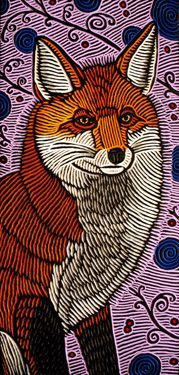 ♥ Red Fox, Very Beautiful & Intricate Detail --- by Lisa Brawn via Flickr