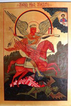 Ikona - Archaniol Michal Archistrateg by mamoru1989