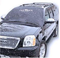 Car Windshield Cover for Winter Snow Removal- Magnetic Snow, Ice and Frost Guard - New magnets Fits SUV, Truck & Car Windshields - Auto Windshield Snow Cover - Large over - Outback Shades. Windshield Cover For Snow, Going Fishing, Car Covers, Plein Air, Winter Snow, How To Remove, Frost, Truck, Accessories