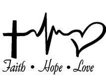 Faith Hope Love Decal Car Decal Christian by VinylDecalShoppe Window Decals, Car Decals, Vinyl Decals, Window Wall, Wall Decal, Silhouette Cameo Projects, Silhouette Design, Vinyl Crafts, Vinyl Projects