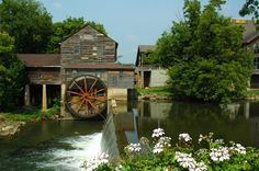 The Old Mill in the spring
