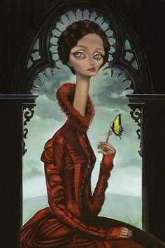 Lucille Canvas Art by Bob Doucette First Animation, Animation Film, Oil On Canvas, Canvas Art, Canvas Prints, Lady Bob, Macabre Art, Lowbrow Art, Pop Surrealism