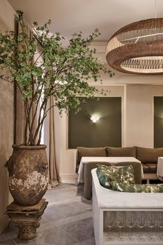 Space Copenhagen designs Esmée restaurant with plant-filled interior.