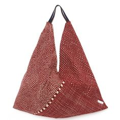 SOU • SOU - Furoshiki Tote Bag Red Dots and Stripes