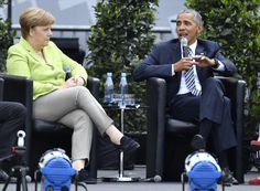 """Obama in Berlin: """"We can't hide behind a wall"""" - CBS News"""