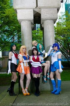 Sailor Moon Group Cosplay http://geekxgirls.com/article.php?ID=2417