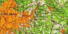 Track a Century of U.S. Development With a Tool That Centralizes Old Maps