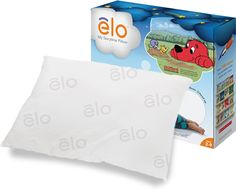 """elo™ is a doctor-endorsed pillow that promotes better sleeping habits in children. As they rest their heads, elo plays stories and soothing ambient sounds. If they do get up, the story pauses and elo reminds them to """"Lay your head down to hear the rest of the story."""" Encouraging kids to stay resting, stay in bed, and fall asleep more easily!"""