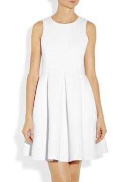 Adore for Bridal Shower  Tibi|Pleated neoprene dress|NET-A-PORTER.COM
